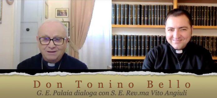 Vito Angiuli presenta Don Tonino Bello educatore, a cura del prof. Giovanni Emidio Palaia