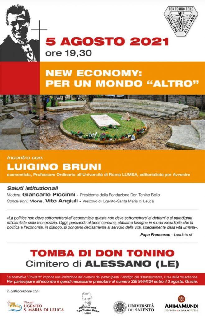 """LOCANDINA NEW ECONOMY: PER UN MONDO """"ALTRO"""""""